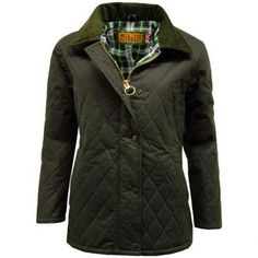 Mens Game Oxford British Made Quilted Wax Jacket Country Shooting Coat Outdoor