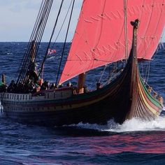 The world's largest Viking ship in modern times, Draken Harald Hårfagre, set sail on an expedition like no other from Haugesund to Greenland, Iceland and USA.
