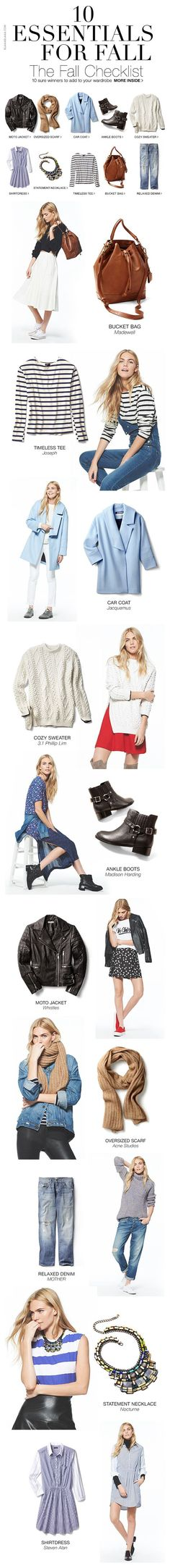 (42) Shopbop – 10 Essentials for Fall | Style my wardrobe: Autumn/Winter |…