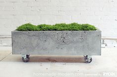 HomeMade Modern DIY EP16 Concrete Planter