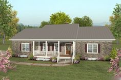 COOL house plans offers a unique variety of professionally designed home plans with floor plans by accredited home designers. Styles include country house plans, colonial, Victorian, European, and ranch. Blueprints for small to luxury home styles. House Plans One Story, Best House Plans, Story House, Small House Plans, Round House Plans, Basement House Plans, Craftsman House Plans, Craftsman Style, Basement Flat
