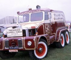 "Scammell Pioneer This is also featured in Warne's "" Fairground and Circus Transport"". Photographed byChris Russell in 1973"