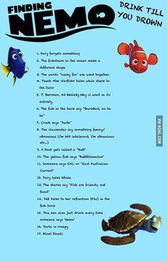 Findet Nemo Trinkspiel