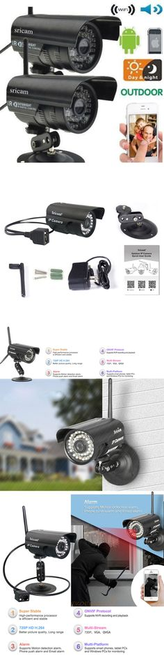 9a7dba380e Security Cameras  2X Sricam Outdoor Wireless Waterproof Ir Ip Camera  Network Spy Cam Night Vision