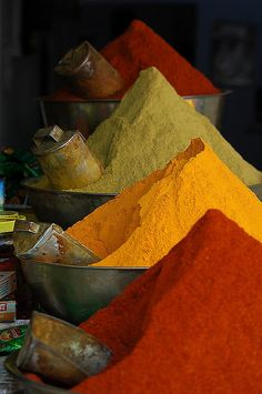 Color spice . India