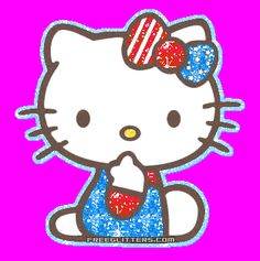 4th of July  hello kitty