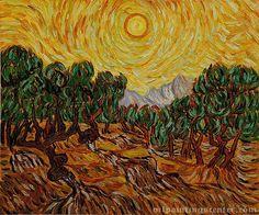 Van Gogh yellow