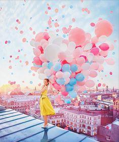 Flying Dress – Elle sublime le monde avec des robes aériennes | Ufunk.net