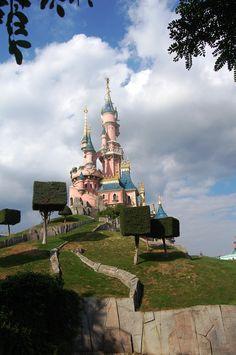 Castillo de la Bella Durmiente, Disneyland París, France