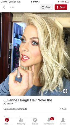 Julianne Hough Hair *love the cut!* Julianne Hough Hair *love the cut! Julienne Hough, Wedding Hair And Makeup, Hair Makeup, Makeup Eyebrows, Eyebrow Makeup, Hair Wedding, Bob Rubio, Julianne Hough Hair, Bobs Blondes