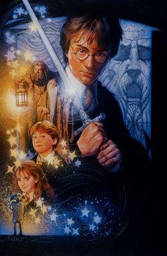 Harry Potter by Drew Struzan