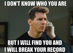 Messi be like!