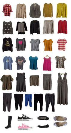 Plus Size Capsule Wardrobe from Crafty Minx