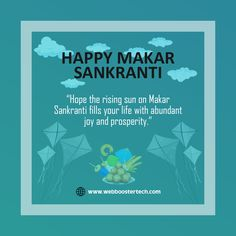 🔶🔷With great devotion, Fervor and Gaiety, With Rays of Joy and hope, Wish Everyone Happy 🤩 Makar Sankranti 🔶🔷 Happy Makar Sankranti, Best Digital Marketing Company, Wish, Web Design, Joy, Good Things, Design Web, Glee, Being Happy