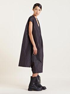 Rick Owens Women's Sleeveless Silk Jumpsuit | LN-CC #shopbird15 #SS14
