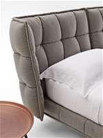 Quite cuddly: HUSK bed, designed by Patricia Urquiola for B&B Italia