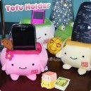 Hannari Tofu Plush Holder ~ Special Edition