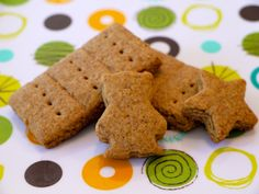 Graham Crackers on Weelicious +