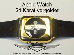 Apple Watch, 24 Karat vergoldet, Gold, Plating