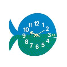 Fernando The Fish Clock, $165, now featured on Fab.