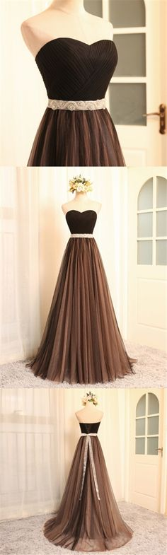 Chic Prom Dresses Sexy Sweetheart Tulle Long Prom Dress/Evening Dress JKL057 Prom Dresses 2018, Sexy Dresses, Beautiful Dresses, Evening Dresses, Bridesmaid Dresses, Awesome Dresses, Beautiful Clothes, Military Ball Dresses, Party Dresses For Women