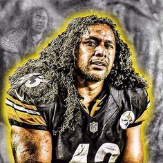 @tpolamalu Pittsburgh Steelers Players, Nfl Steelers, Pittsburgh Sports, Steelers Tattoos, Brian Dawkins, Troy Polamalu, Steeler Nation, Football Pictures, National Football League