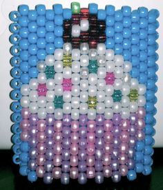Cupcake Kandi Cuff by xdementedxangelx on Etsy, $25.00
