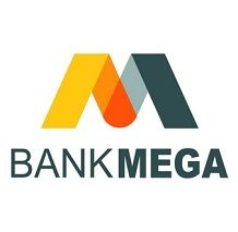 Logo PT Bank Mega