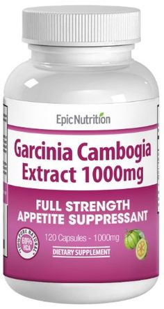 Epic Nutrition Garcinia Cambogia Extr... for only $25.99