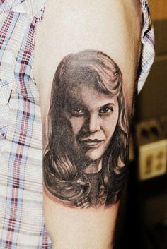 A portrait of Sylvia Plath