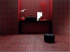 Cerámica de baño / muebles baño: Combinación de mosaicos de Bisazza #decoración #baño #ceramica