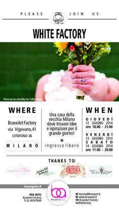 Evento | White Factory | thanks to @Polka Dot Bride @WedLoft @Classic Bride @Sara | Burnett's Boards