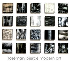 Wall Sculpture - Wood Wall Art - Painted Wood Abtract Wall Art Blocks Black, White, Silver - originalModern Wall Art by Rosemary Pierce on Etsy, $550.00