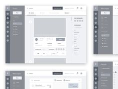 Hello guys, this is the first Fikristudio's shot, we are small creative UI-UX studio based in Indonesia. This shot is about our work in progress. a wireframe for event management service. Wireframe Web, Wireframe Design, Design Ios, Logo Design, Website Wireframe, Graphic Design, Design Websites, Web Design Awards, Layout Design