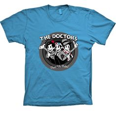 DOCTOR WHO THE DOCTORS FUNNY T SHIRT from casualshirt by DaWanda.com