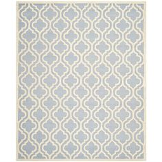 Safavieh Cambridge Collection CAM132A Handmade Light Blue and Ivory Wool Area Rug, 9 feet by 12 feet (9' x 12') Safavieh http://www.amazon.com/dp/B00CMA3O7C/ref=cm_sw_r_pi_dp_mDg4vb1PNKSPA