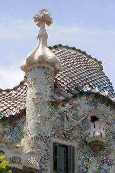 Casa Batlló, Barcelona - Modernismo catalan