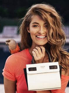 Guess heads to sunny Beverly Hills, California, for its spring 2016 accessories campaign. The fashion brand spotlights its latest styles ranging from satchels to totes and bucket bags for the latest advertisements. Models Grace Elizabeth, Gui Fedrizzi, Michaela Karakova, Alice Paunescu and Lada Kravchenko turn up the heat in the sultry campaign photographed by Pulmanns. …