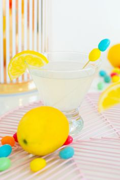 15 La Croix Cocktails to Start the Summer Off Right via Brit + Co  Skinny Lemon Drop: 1 part lemon vodka 2 parts lemon La Croix