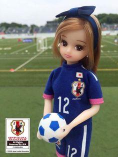 Licca Futbol Oynuyor