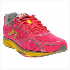 Newton Running Women's Gravity III Pink/Silver/Yellow Running Shoe 11 Women US (*Partner Link)