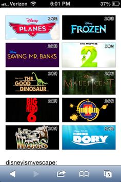 Upcoming Disney movies - Finding Dory is the one I'm looking forward to most.... You guys??