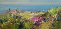 Rex PRESTON-Summer Flora Zennor Head Cornwall