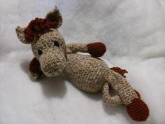cavallo pony amigurumi, schema #edsanimals, uncinetto (horse crochet)