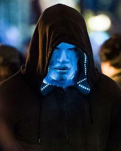 The amazing spiderman  2. Jamie Foxx como Electro Imágenes desde el set. The Amazing Spider-Man 2.   Catafora