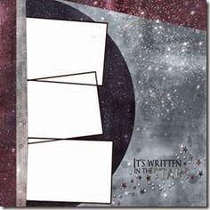Constellations blog hop - Digital Template by Jill Pechauer