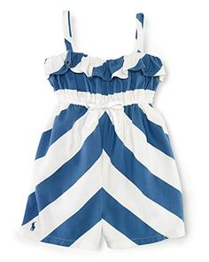 Ralph Lauren Striped Romper, of July outfit Girly Outfits, Kids Outfits, Cute Outfits, Ralph Lauren, Kids Fashion, Fashion Outfits, 4th Of July Outfits, Wedding With Kids, Baby Girl Romper