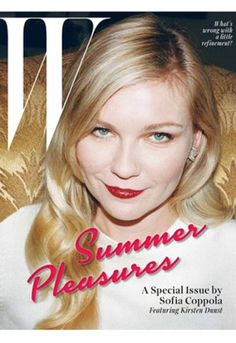 Sofia Coppola speelt hoofdredacteur voor W Magazine
