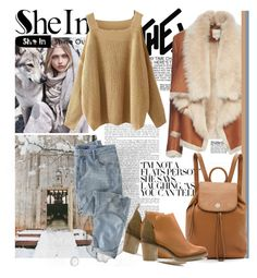 """""""SheIn Contest"""" by tihana1 ❤ liked on Polyvore featuring MANGO, Mason by Michelle Mason, Tory Burch, Miista and Wrap"""