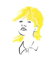 Yellow hair, don't care - S K E T C H O N I S T A